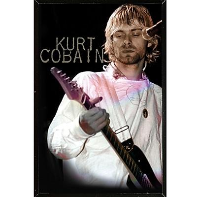 East Urban Home 'Kurt Cobain - Cook' Rectangle Plastic Framed Graphic Art Print Poster