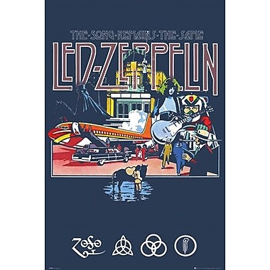 East Urban Home 'Led Zeppelin - Remains' Graphic Art Print Poster