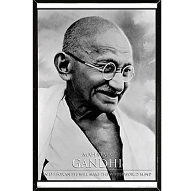 East Urban Home 'Gandhi' Rectangle Framed Graphic Art Print Poster