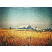 August Grove 'SW Barn' Graphic Art Print on Canvas