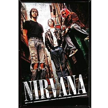 East Urban Home 'Nirvana Alley' Graphic Art Print Poster