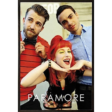 East Urban Home 'Paramore Group' Wood Framed Graphic Art Print Poster