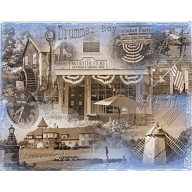East Urban Home 'Brewster Vintage' Graphic Art Print on Canvas
