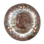 The Holiday Aisle Turkey 9.75'' Rim Soup Bowl