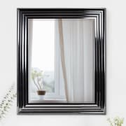 Winston Porter Eclectic Rectangular Plastic Framed Wall Mirror