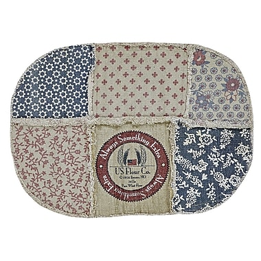 August Grove Marie Area Rug; Oval 3'10'' x 5'10''