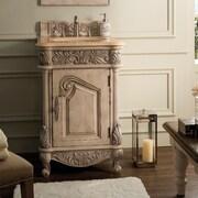 Astoria Grand Paddington 24'' Single Empire Linen Bathroom Vanity Set