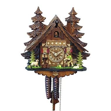 Loon Peak Driven Wood Cuckoo Clock