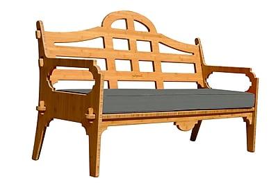 Loon Peak Burliegh Solid Sofa; Charcoal