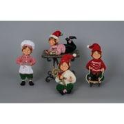 Karen Didion Christmas 4 Piece Traditional Elf Set
