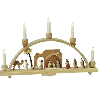 The Holiday Aisle Richard Glaesser Arch Nativity Scene