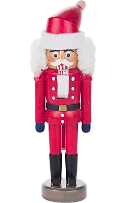The Holiday Aisle Dregeno Santa Claus Mini Nutcracker WYF078281436951