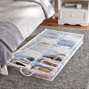 Rebrilliant 2 Compartment Underbed Shoe Storage