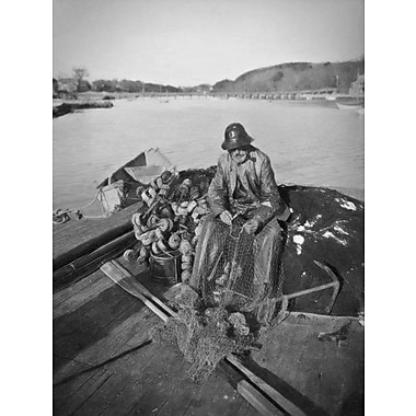 Breakwater Bay 'Gloucester Fisherman Vintage' Photographic Print on Canvas