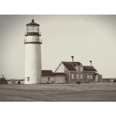 Alcott Hill 'Highland Light Calotype' Graphic Art Print on Canvas