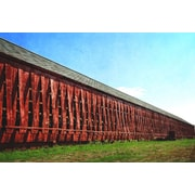 August Grove 'Open Slats' Photographic Print on Canvas