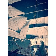 Breakwater Bay 'Vintage Sailing' Photographic Print on Canvas