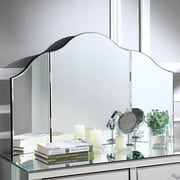 Rosdorf Park Tri-Fold Rectangle Makeup Mirror