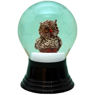 The Holiday Aisle Perzy Owl Water Globe
