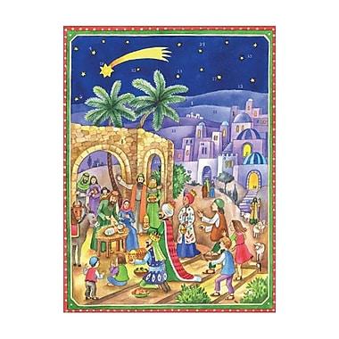 The Holiday Aisle Sellmer Bethlehem Scene Advent Calendar