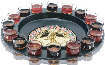 Volar Ideas Roulette Shot Glasses Drinking Game WYF078281437505