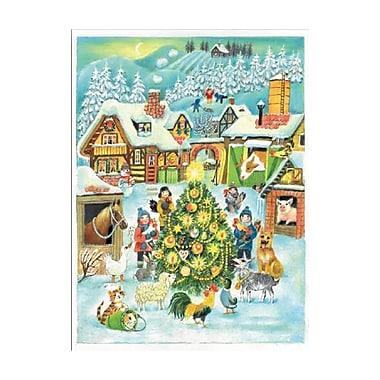 The Holiday Aisle Sellmer Farm Scene at Christmas Advent Calendar