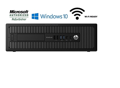 Refurbished HP 800 G1 AIO Desktop (Intel i5, 16GB, 2TB, WIFI, Win 10 Pro)