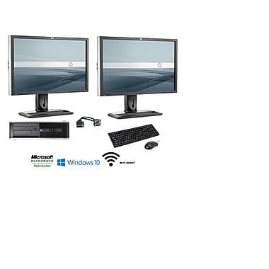 Refurbished HP 8300 Bundle Desktop (Includes [2] 24