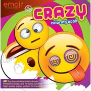 Emoji Crazy Coloring Book for Kids