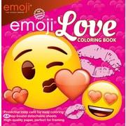 Livre à colorier « Emoji Love » pour les enfants
