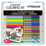 Newbourne Polaroid Coloring Kit