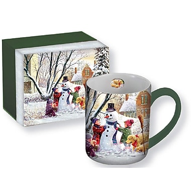 Lang - Grosse tasse en céramique, Bonhomme hiver (10995021055), 14 oz.