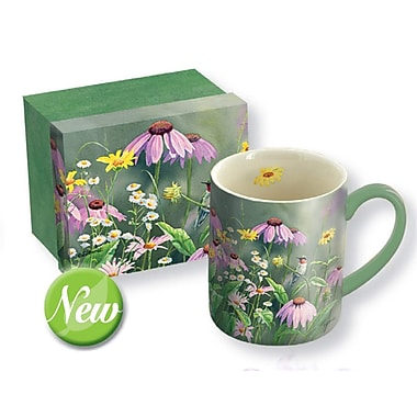 Lang (10995021107) 14Oz Ceramic Ruby in Wildflowers Mug