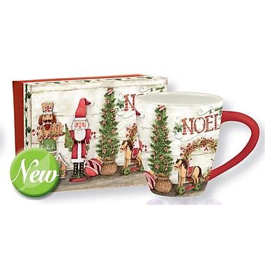 Lang - Grosse tasse en céramique (10992121050), 17 oz., motif Noël