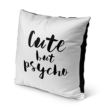 Ivy Bronx Mandala Indoor/Outdoor Throw Pillow; 16'' H x 16'' W x 8'' D