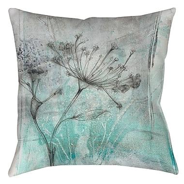 Latitude Run Kinard 1 Printed Throw Pillow; 18'' H x 18'' W x 5'' D