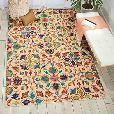 Bloomsbury Market Zosia Hand Tufted Wool Ivory Area Rug; 4' x 6'
