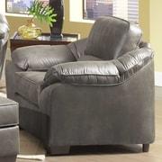Serta Upholstery Armchair; Laramie Charcoal