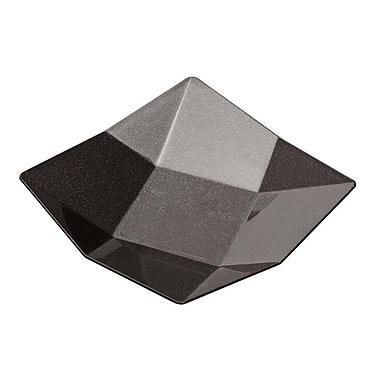 Starplast Octave Mini Plastic Appetizer Dish (Set of 500); Black