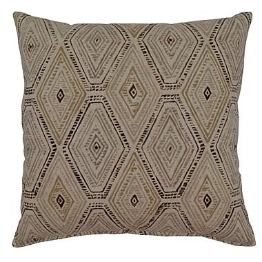 Bloomsbury Market Dacey 100pct Cotton Throw Pillow; Sahara