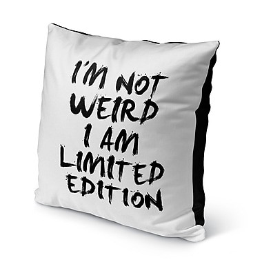Latitude Run Charmain Indoor/Outdoor Throw Pillow; 16'' H x 16'' W x 8'' D