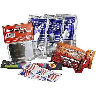 Emergency Zone Basic Student Emergency Kit, 12 Pack