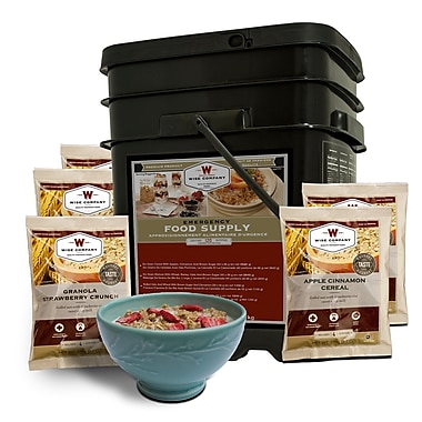 Wise 120 Serving Breakfast Bucket, Freeze Dried Food