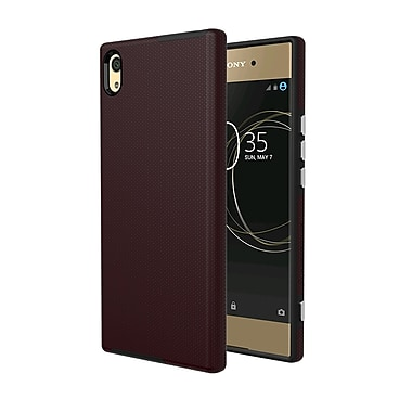 Axessorize PROTech Cell Phone Case for Sony Xperia XA1 Ultra, Burgundy Red (SONR1412)