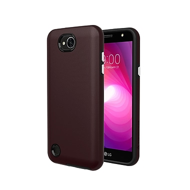 Axessorize PROTech Cell Phone Case for LG X Power 2, Burgundy Red (LGR1552)