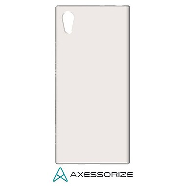Axessorize Tempered Glass Screen Protector/Cell Phone Case Combo for Sony Xperia XA1, Clear (SON1402)