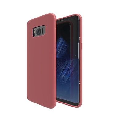 Axessorize Allure Cell Phone Case for Galaxy S8 Plus, Red Coral (SAMA2312)