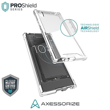 Axessorize PROShield Cell Phone Case for Sony Xperia XA1, White (SONP1401)