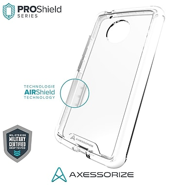 Axessorize PROShield Cell Phone Case for Moto G5, White (MOTOP1201)