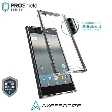 Axessorize PROShield Cell Phone Case for Sony Xperia XA1 Ultra, Black (SONP1410)